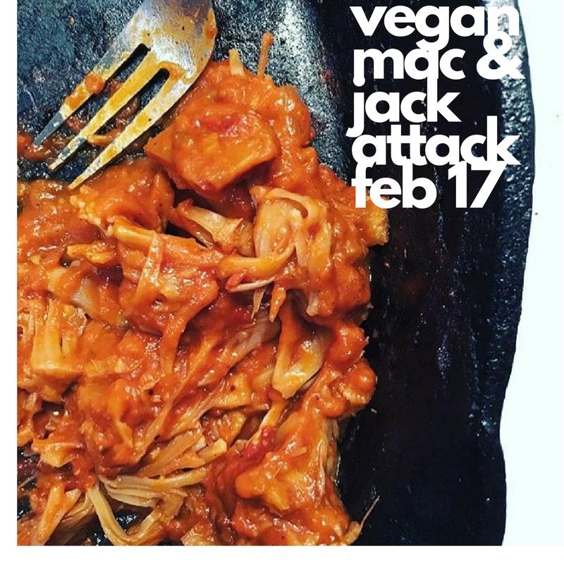 Vegan Mac & Jack attack