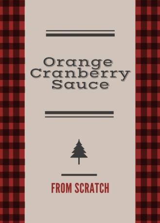 Cran Sauce